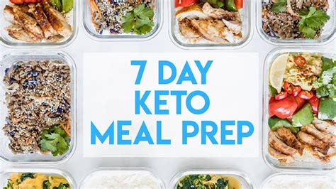 day keto meal prep simple healthy meal plan youtube