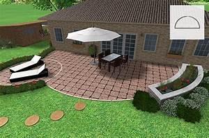 steinplatten terrassenboden materialien im uberblick With französischer balkon mit wassersäule garten granit