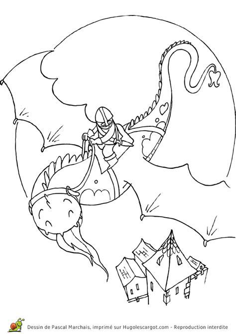 Drakenrijders Berk Kleurplaat by Coloriage Moyen Age Sur Hugolescargot