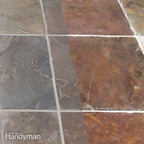 how to remove grout from tile the family