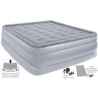 sears air mattress comfort raised flock top air bed mattress 8507ab