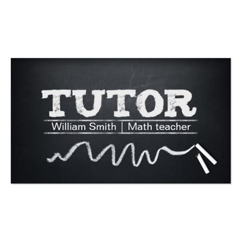 Create Your Own Tutor Business Cards - Page4