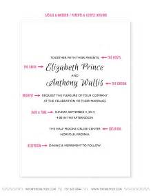 casual wedding invitation wording paper wedding guest feature the anatomy of a wedding invite