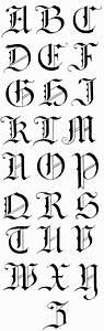 german gothic calligraphy alphabet - Buscar con Google ...