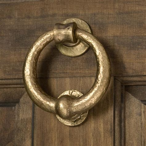 bronze door knocker solid bronze deluxe ring door knocker living bronze