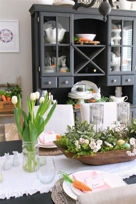 spring decorations   dining room clean  scentsible