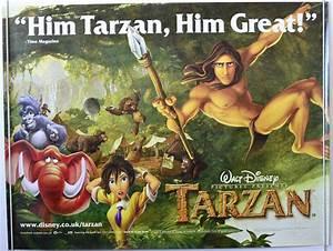 Tarzan - Original Cinema Movie Poster From pastposters.com ...