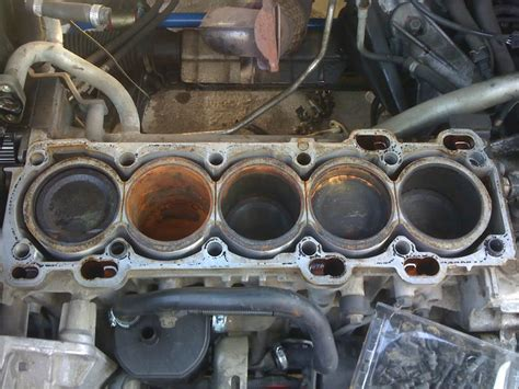 engine swap blown wharped head gasket volvo forums