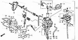 Honda Atv 1985 Oem Parts Diagram For Carburetor