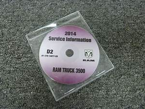 2014 Dodge Ram Truck 3500 Shop Service Repair Manual Cd
