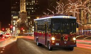 Cleveland Holiday Lights Trolley All Aboard The Holly Jolly Trolley In Baltimore Sonesta
