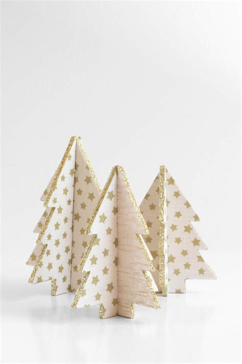 decorative wooden christmas trees 23 diy mini christmas tree decor ideas homelovr