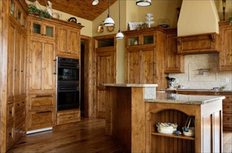knotty alder kitchen cabinets knotty alder cabinets for the home pinterest