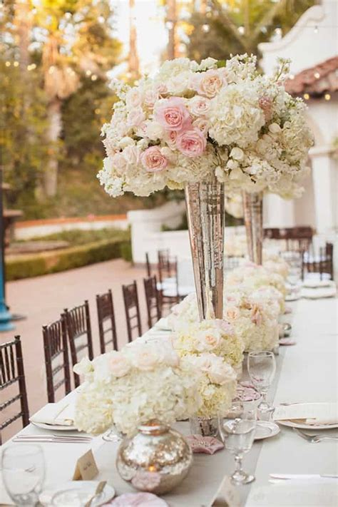 elegant  dreamy floral wedding centerpieces collection