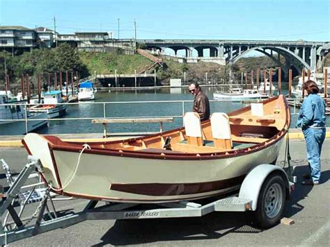 Punt Drift Boat by The Depoe Bay Wooden Boat Festival And Crab Feed 2002