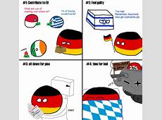 Polandball » Polandball Comics » A typical day for Germany