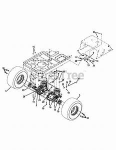 Cub Cadet Parts On The Rear Drive  U0026 Wheels Diagram For Rzt