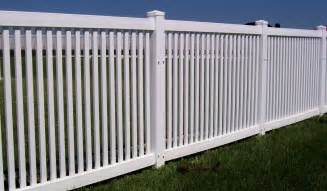 pictures of a fence vinyl fence