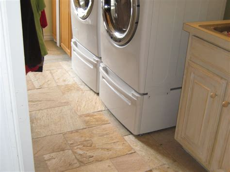 how to tile a laundry room floor with drain at home design