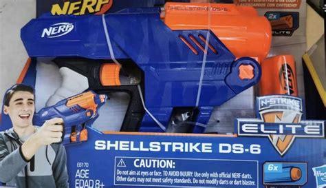 Nerf Shellstrike DS-6 : Nerf
