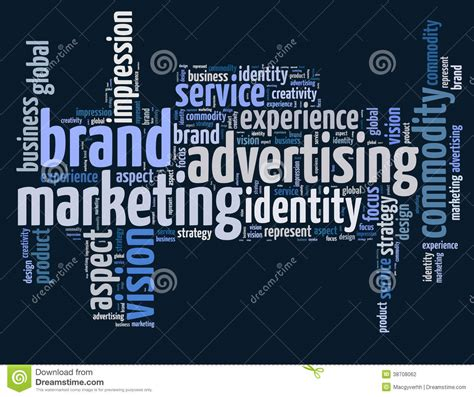 Marketing And Advertising by Brand Advertising And Marketing Stock Photo Image Of