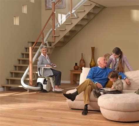 adding a stair lift to an l shaped or switch back stair