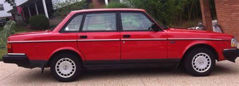 purchase used 1993 volvo 240 base sedan 4 door 2 3l rare in cincinnati ohio united states