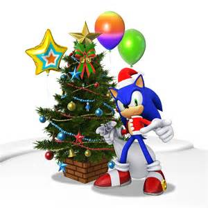Shadow Sonic the Hedgehog Christmas