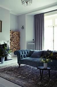 comment associer les couleurs d39interieur simulateur de With tapis bébé avec canapé bleu foncé