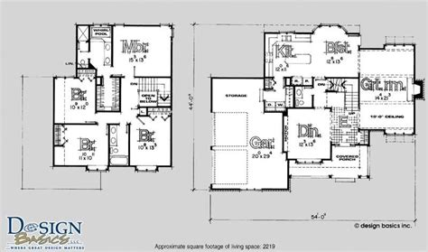 4 Bedroom House Plans 2 Story by Lovely 2 Story 4 Bedroom House Floor Plans New Home