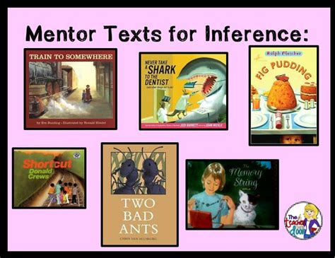 27 Best Images About Inference With Pictures On Pinterest