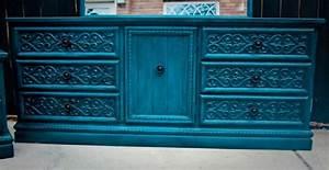 Commode Bleu Canard : chambre bleu canard et associations ou accessoires ~ Teatrodelosmanantiales.com Idées de Décoration