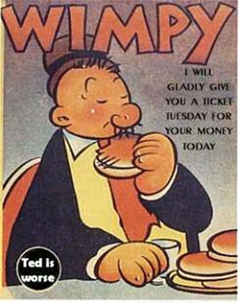 Popeye Cartoon Wimpy Quotes