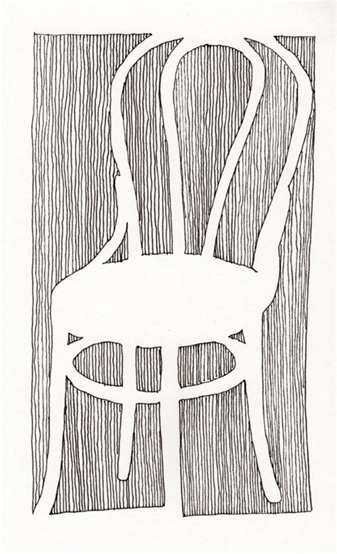 pencil paperdraw contour drawing   chair