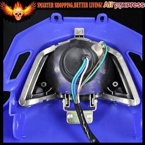 Dirt Bike Dual Sport Off Road Street Fighter Enduro Motorcycle Universal Vision Headlight For