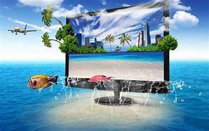 Television, Wallpapers