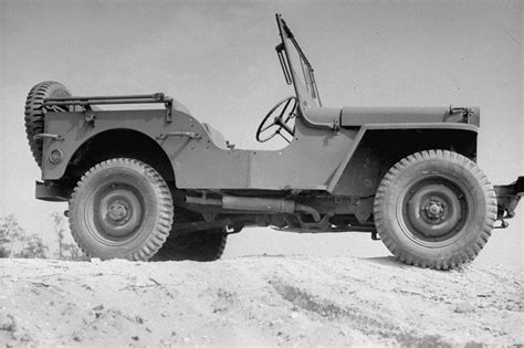 military jeep side ww2 photo wwii us army jeep side view study world war two