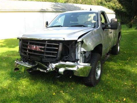 auto air conditioning service 2010 gmc sierra 2500 instrument cluster sell used no reserve 2010 gmc sierra 2500 hd sle 2 door 6 0l salvage wrecked repairable in