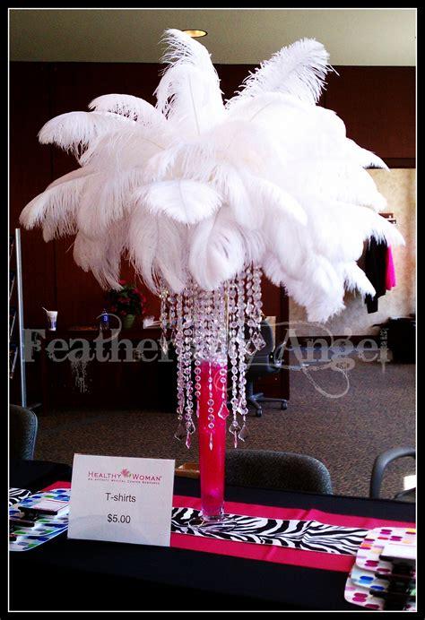 Feather Centerpieces Party Favors Ideas