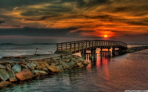 Evening Sunset Hd #wallpaper