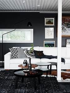 D U00e9coration Contemporaine En Noir Et Blanc