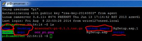 ls that change color raspberry pi programming how to change colors of ls