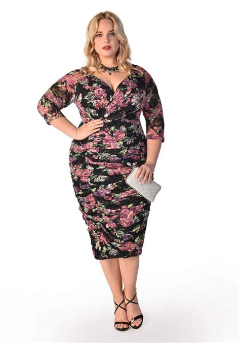 Classy dresses for plus size - PlusLook.eu Collection