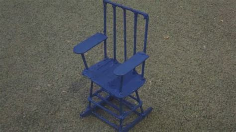 how to make a wooden doll rocking chair