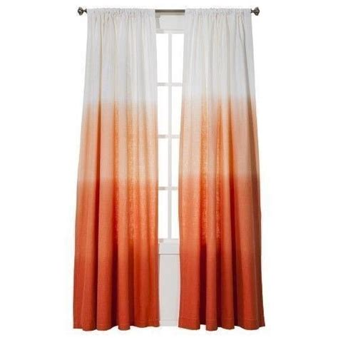 Coral Colored Curtains Target by 1 Threshold Target Coral Ombre Window Curtain Panel 54