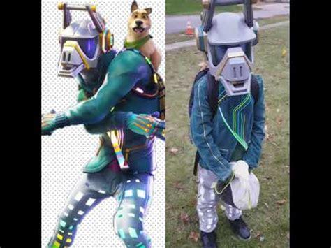 fortnite coolest costume  dad  dj llama dj yonder