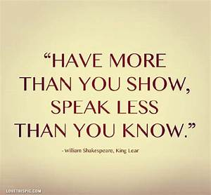 Shakespeare Quote Pictures, Photos, and Images for ...