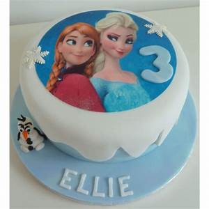 Frozen Theme Cake-01-2Kg in Bangalore Buy Cakes Online
