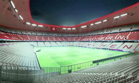si鑒e allianz l 39 allianz arena si tinge di bianco e rosso il bayern pensa a nuovi colori per lo stadio calcio e finanza