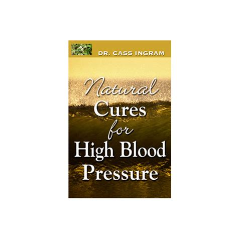 pressure blood natural cures cure naturally